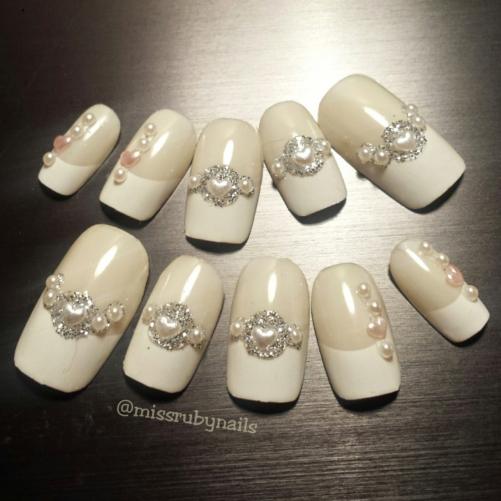 Miss Ruby Nails: Wedding / Elegant / Special Occasion Nails