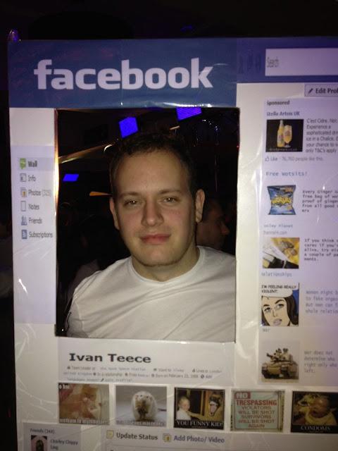 Disfraz de Facebook