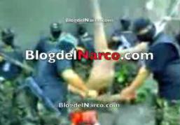 [VÍDEO XXX] El sicario desnudo mutilado vivo por los