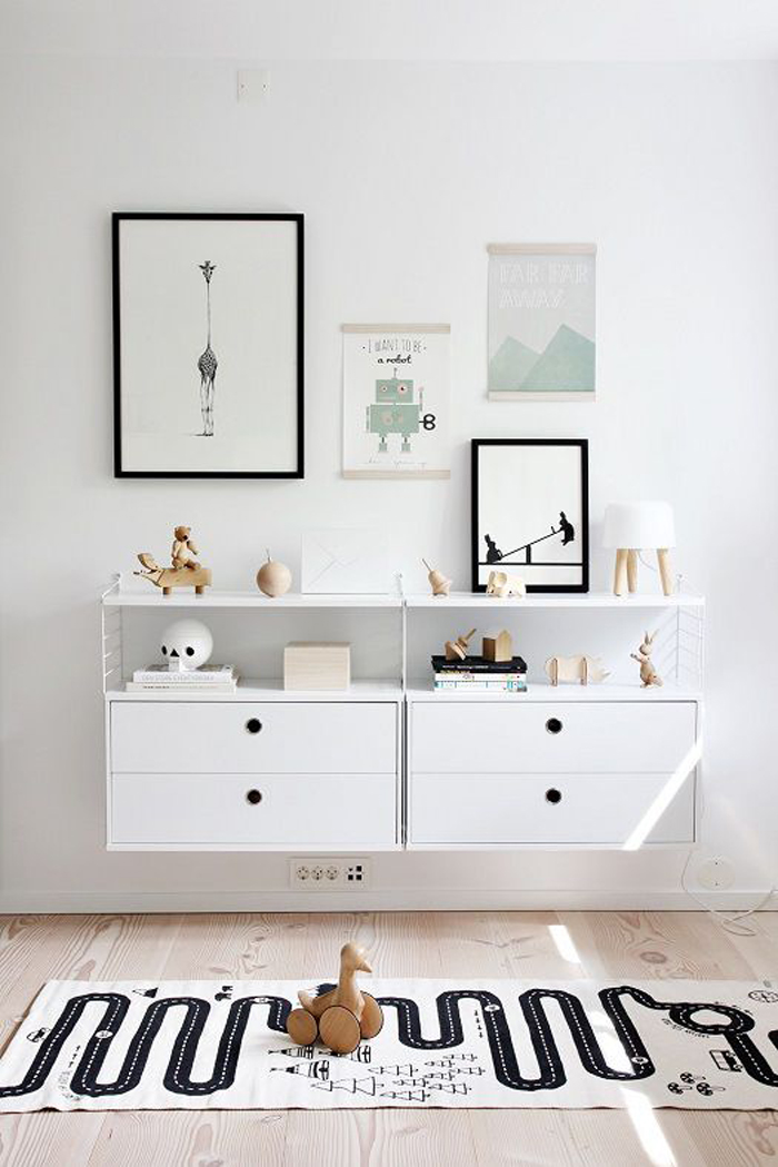 children room from nordicleaves