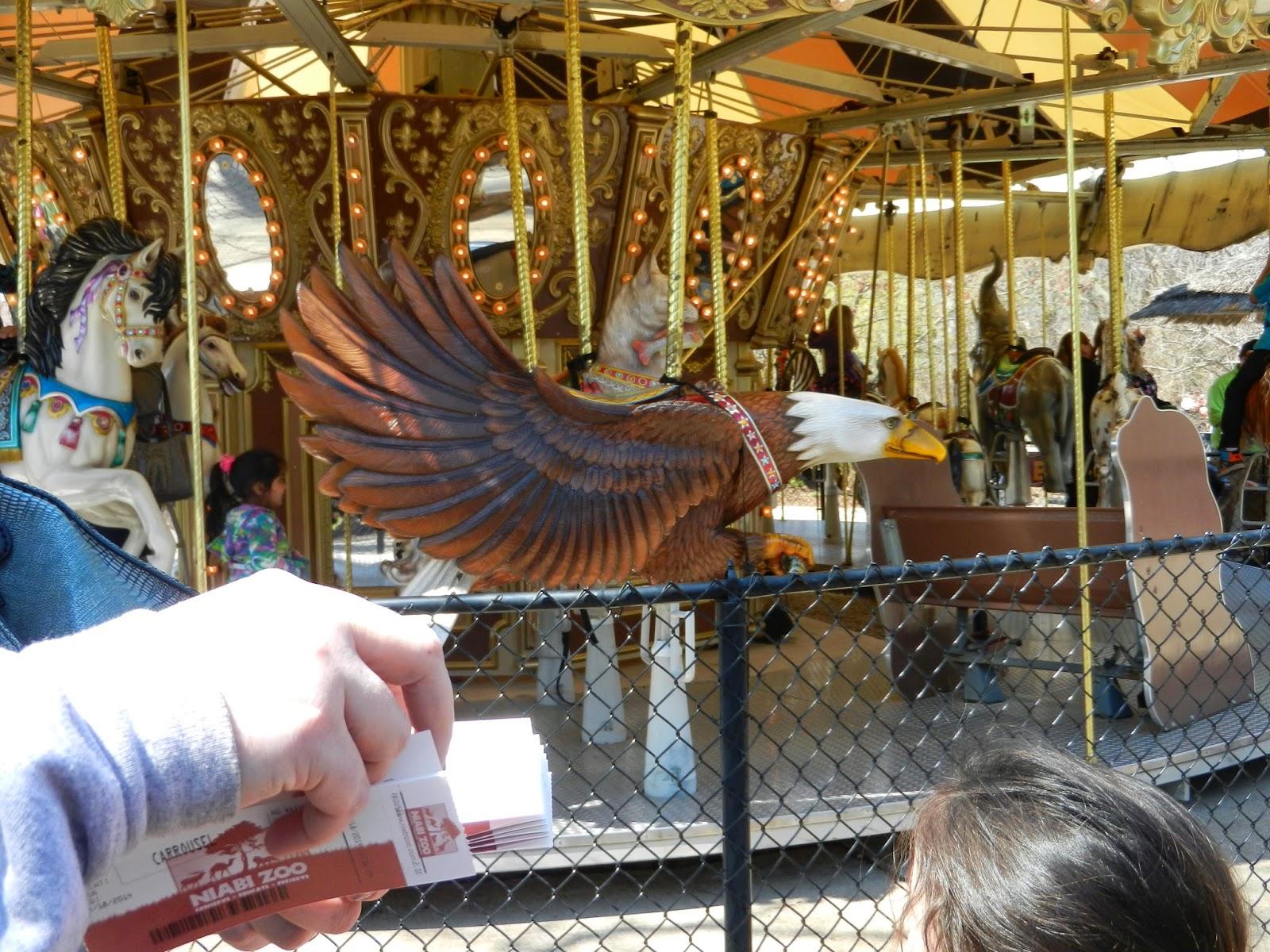 Niabi Zoo Quad Cities carousel
