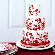 Wedding Cakes: Red Wedding Cakes Photos, Wedding Cakes Design Gallery