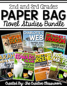 Paper Bag Novel Studies BUNDLE