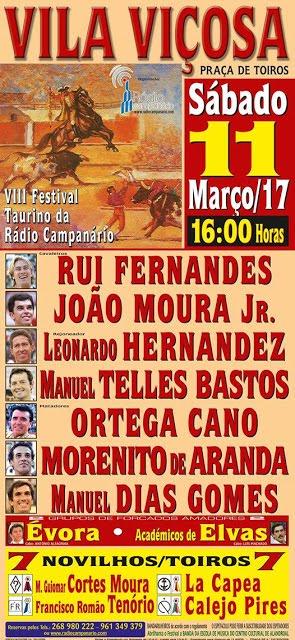 VILA VIÇOSA - 11 de Março