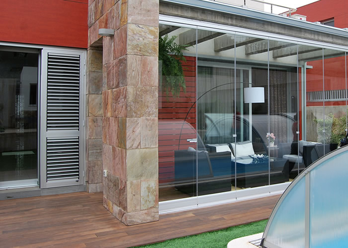 Instalaci n de porches cerrados con aluminio - Porches de madera cerrados ...