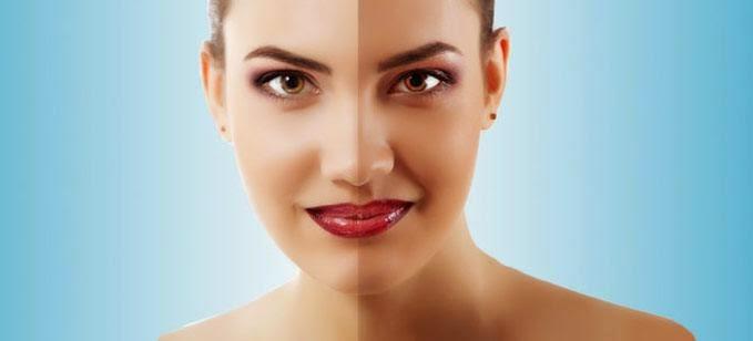 وصفة تبييض الوجه