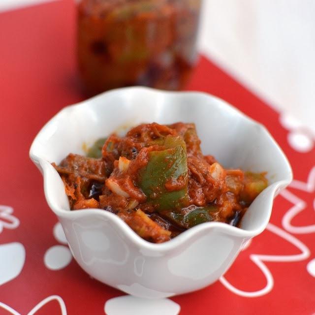 Bell Pepper/ Capsicum Avakaya