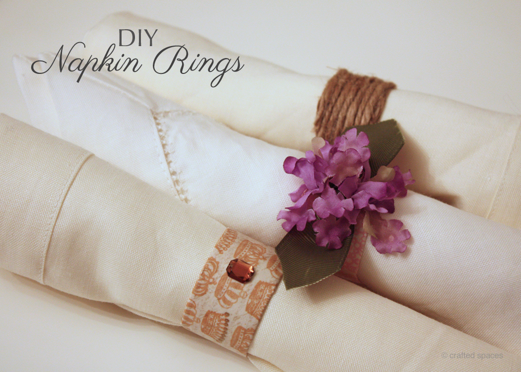 crafted spaces toilet paper roll napkin rings