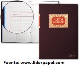 libros de contabilidad, libros de cuentas corrientes