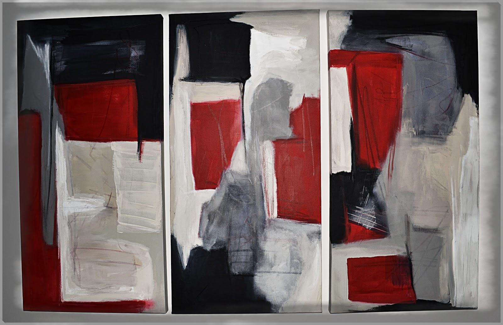 Acrylbilder Selber Malen Modern : Einige Bilder sind dann aber doch entstanden So wie diese Triologie
