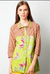 Model Baju Batik Wanita Danar Hadi - Batik Indonesia