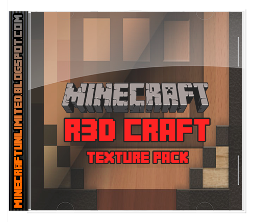R3D Craft texture pack cover