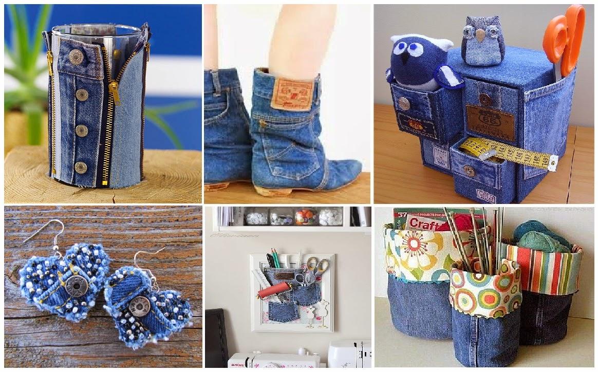 Вещи из джинса своими руками