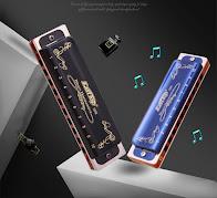 Pop Music Store Een Chinese muziekwinkel met veel keuze waaronder ook mondharmonica's.