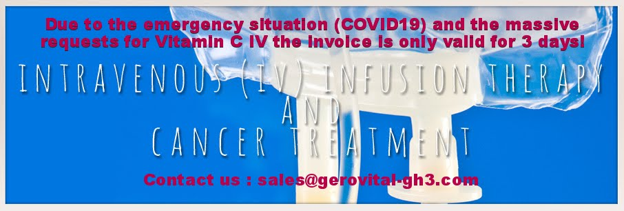 Vitamin C Intravenous IV Drip Therapy for Cancer PharmaLife Laboratories