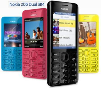 Nokia Asha 206 Price in India