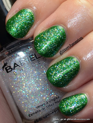 Barielle Stardust over Barielle Lily of the Valley