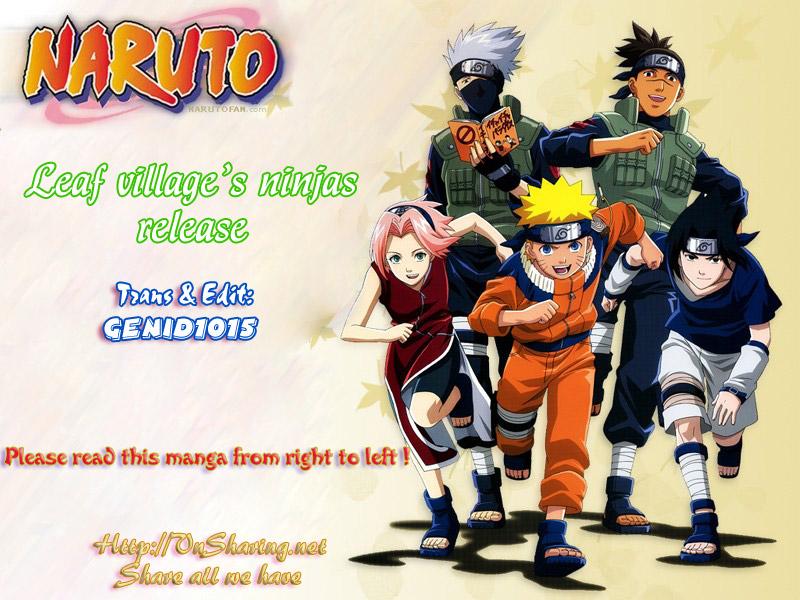 Naruto chap 437 Trang 1 - Mangak.info