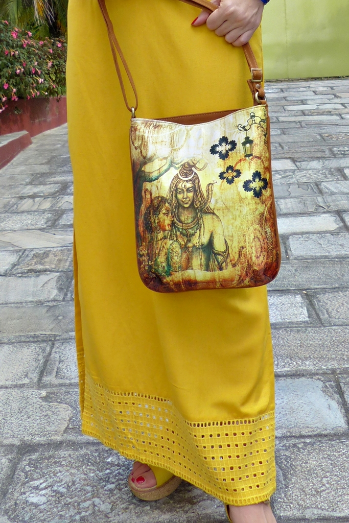 Shiva and Parvati bag