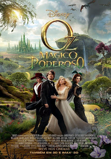 Pôster nacional e crítica de OZ: MÁGICO E PODEROSO (Oz the Great and Powerful)