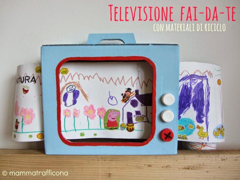 Mammatrafficona giochi fai da te la televisione con - Costruire una cucina con materiali di recupero ...