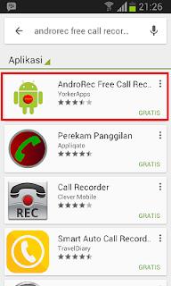 Aplikasi Android Gratis: Cara Merekam Percakapan Telpon