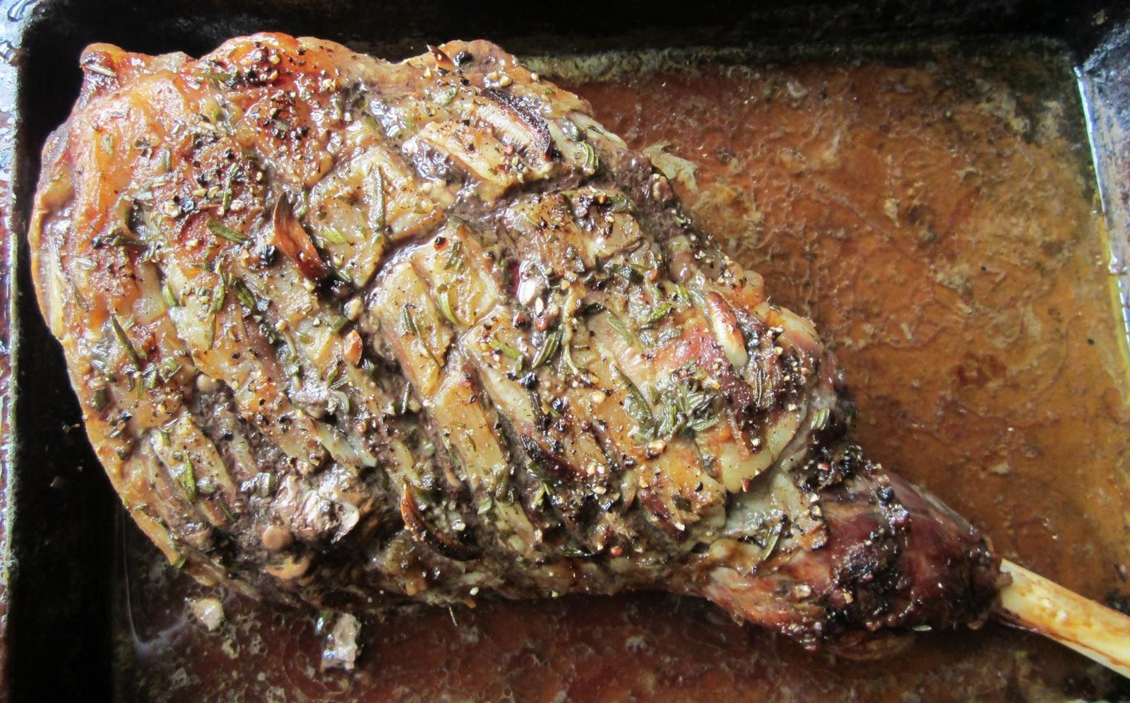 how to serve lamb roast