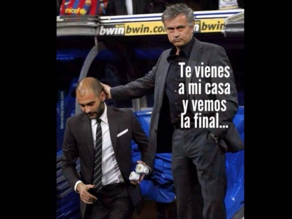 meme guardiola y mourinho