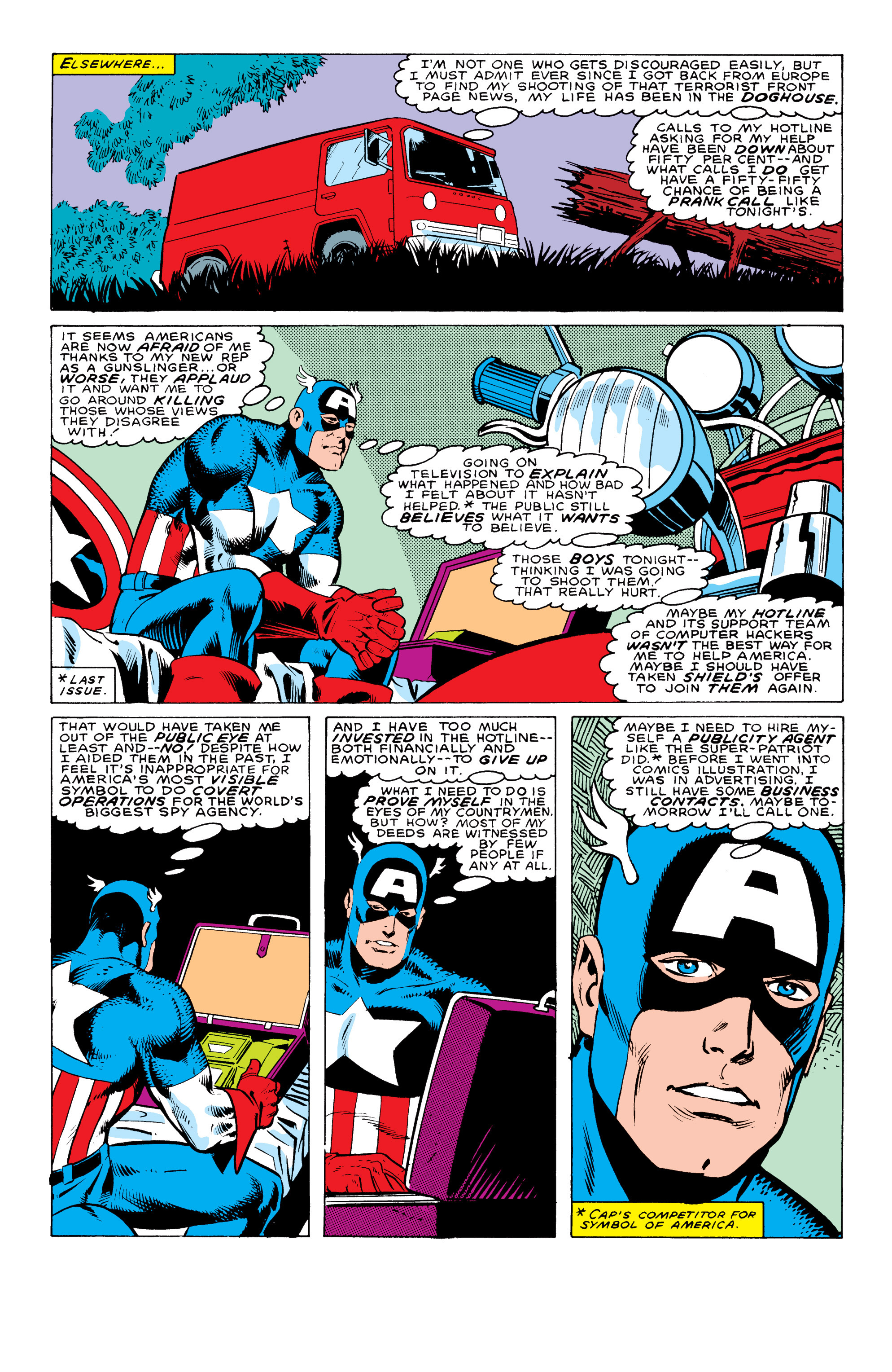 Captain America (1968) Issue #324 #253 - English 10