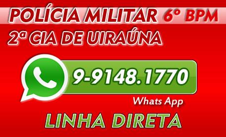 LINHA DIRETA ( PM DE UIRAÚNA )