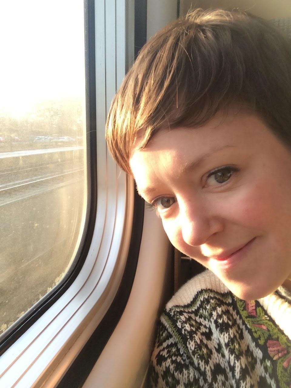 Emily Barker - I chopped all my hair off!