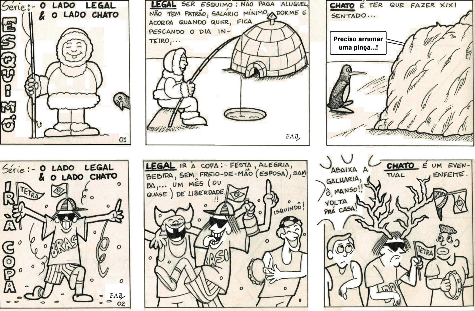 palavra livre cartuns avulsos