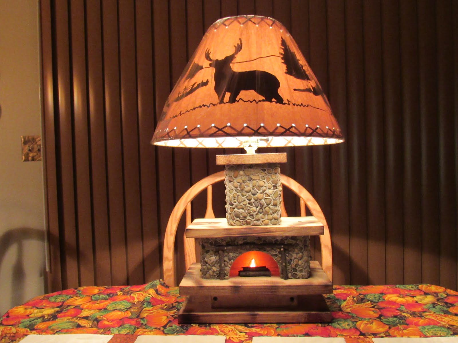 Hearthwood Lamps - Handcrafted by Bernie and Debbie