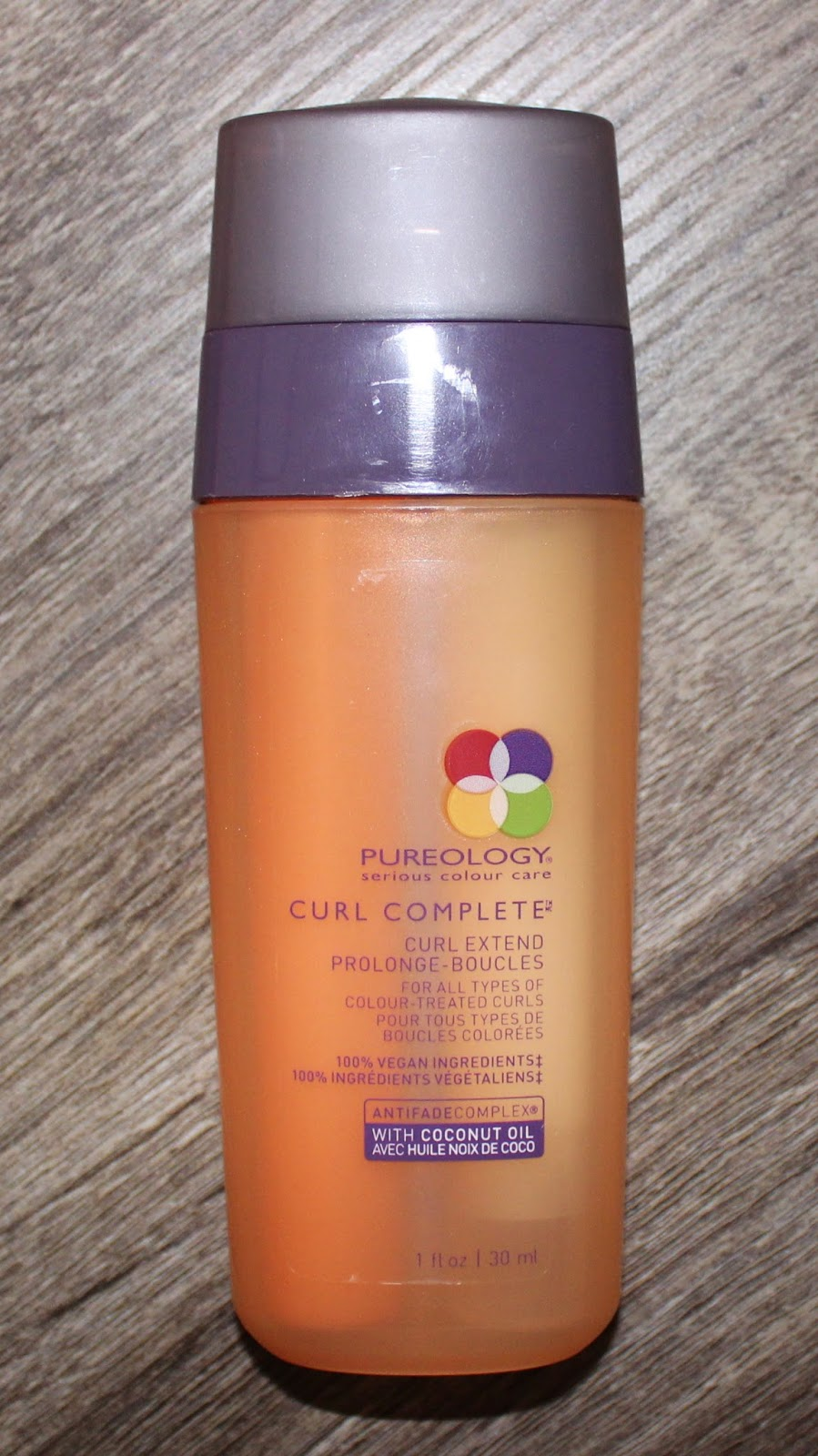 Pureology's Curl Complete Line