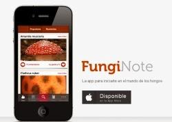 Funginote, una aplicación móvil para conocer y distinguir setas y hongos