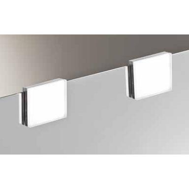 foco luz led baño cuadrado espejo