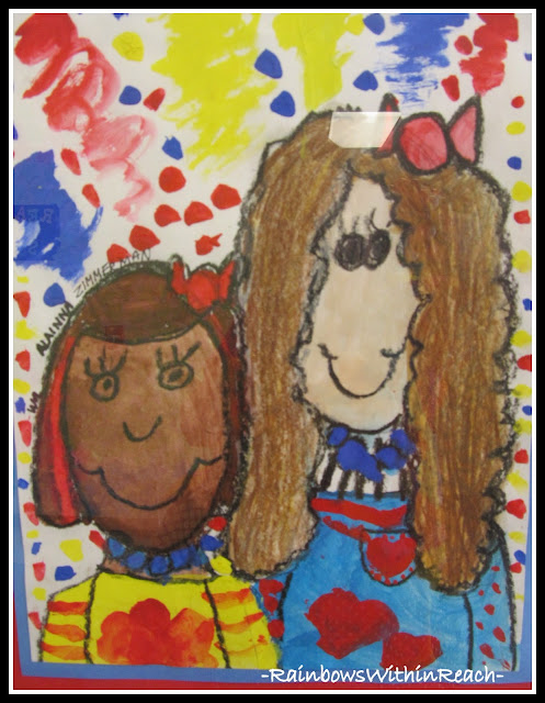 photo of: Elementary Students Paintings: