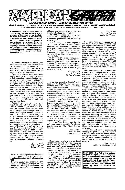 Captain America (1968) Issue #338 #267 - English 24