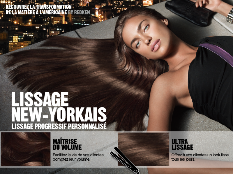 Vie pratique le lissage am ricain redken shape control paris enjoy life - Comment poser enduit de lissage ...