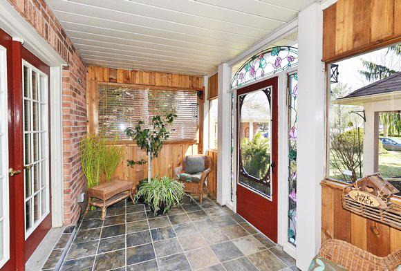 s favorite space s diy enclosed porch