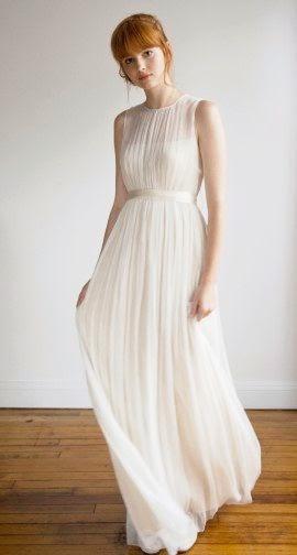 Inspirasi Desain Gaun Pengantin Simpel dan Cantik