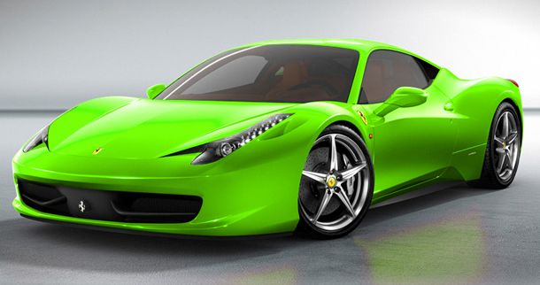 ferrari 458 spider joins the 458 italia widening the range of ferraris mid rear engined v8s and offering the same uncompromising technological solutions - Ferrari 458 Spider Green