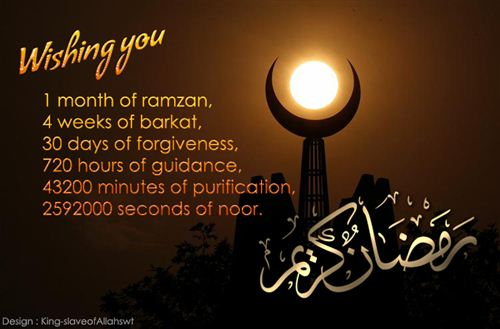 Beautiful Ramadan Messages
