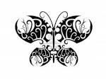 motif tato hitan putih