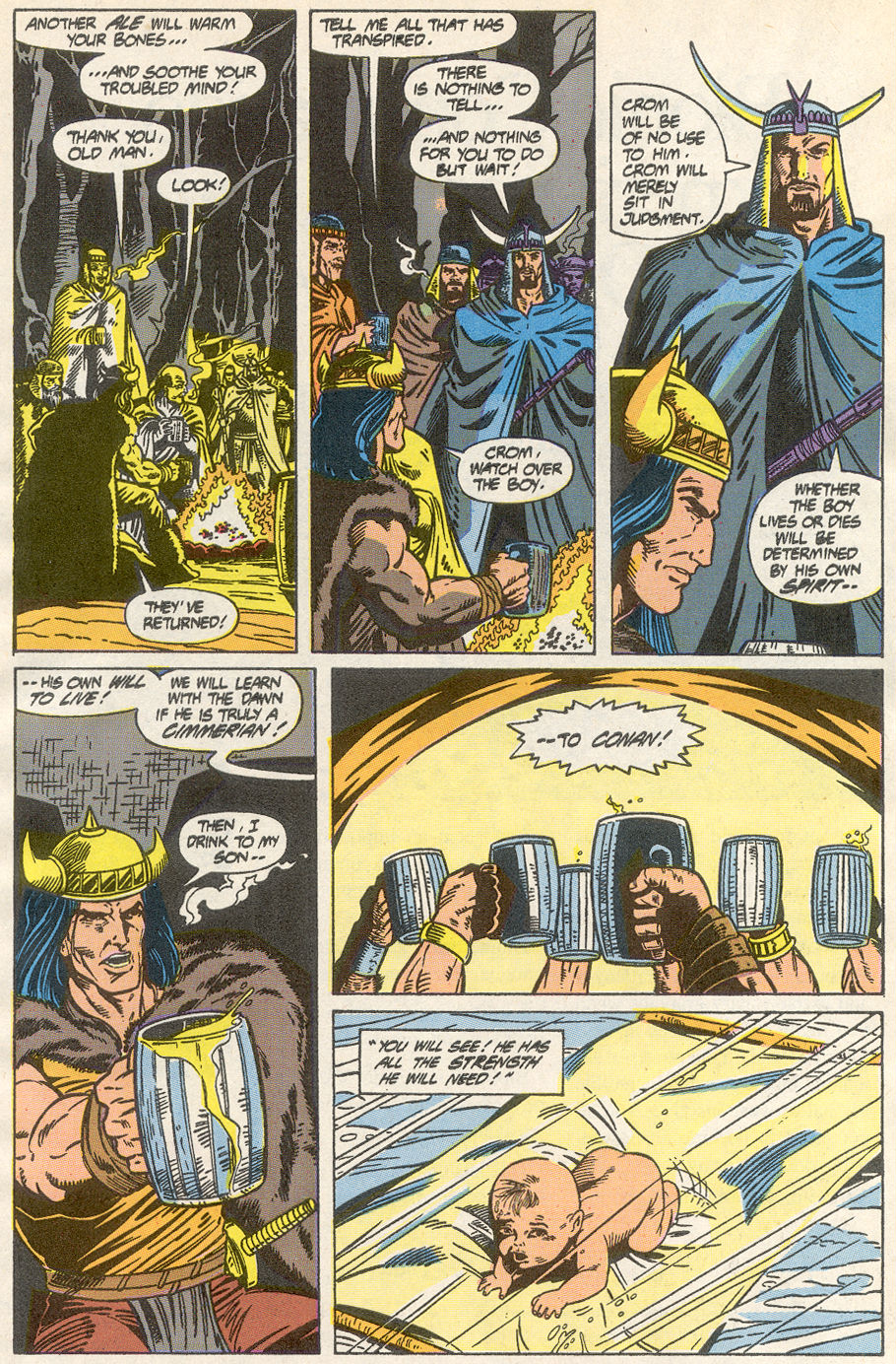 Conan the Barbarian (1970) Issue #233 #245 - English 6