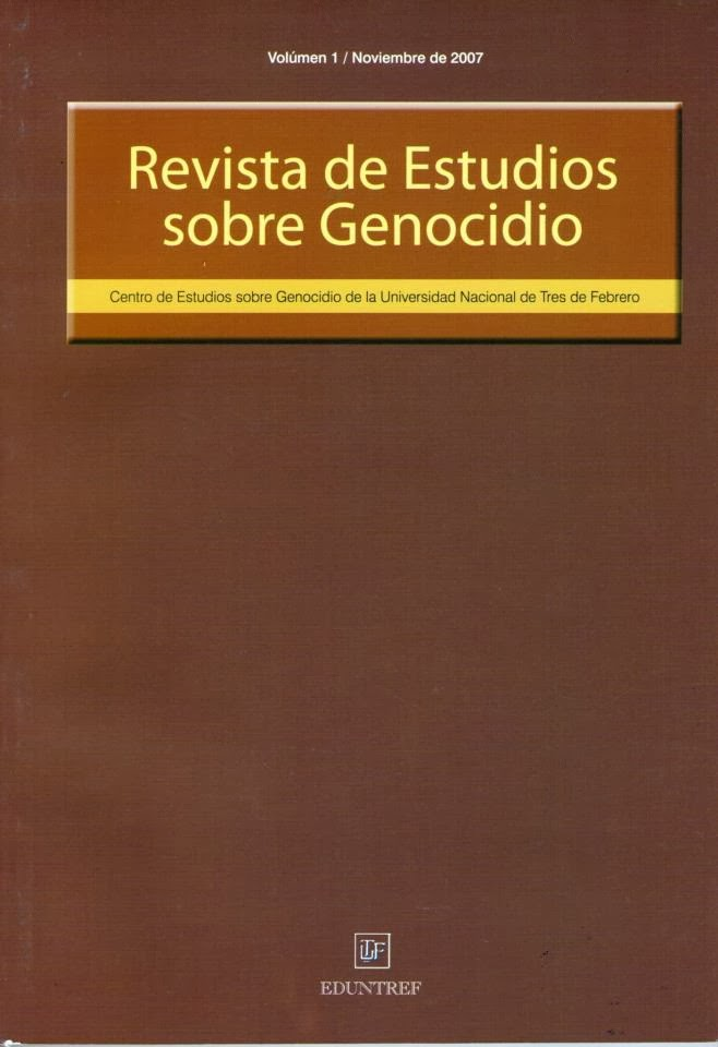 Revista de Estudios Sobre Genocidio