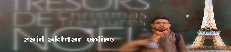 Zaid Akhtar Online