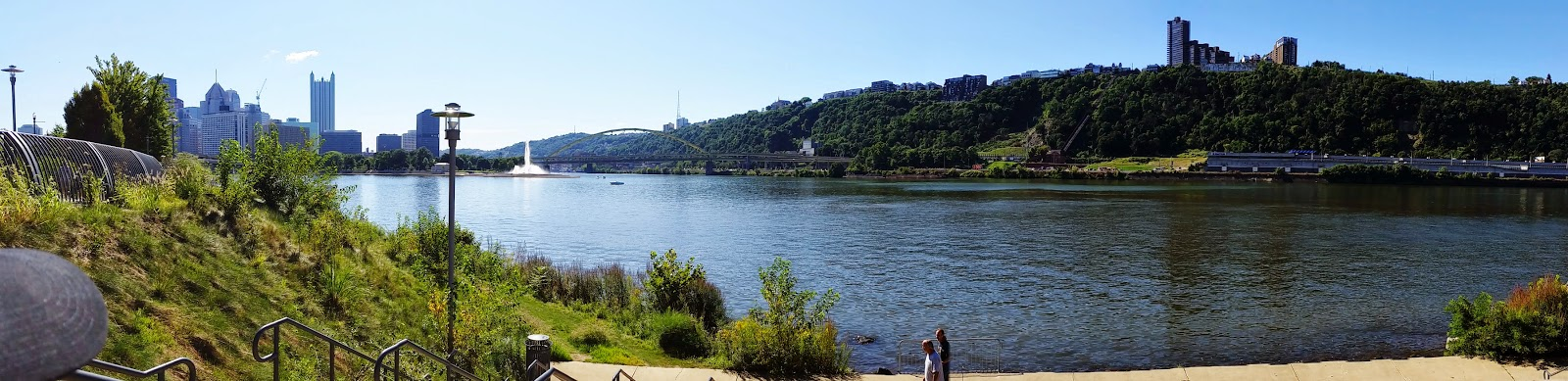 Pittsburgh riverfront