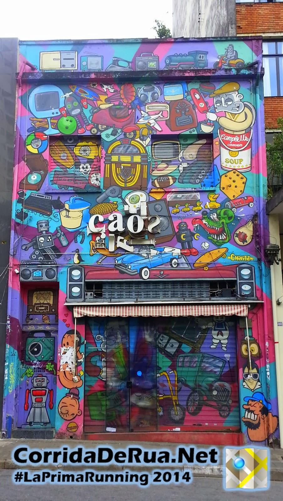 Gratitti,Graffitti,Grafite ou Street Art - Corrida de Rua