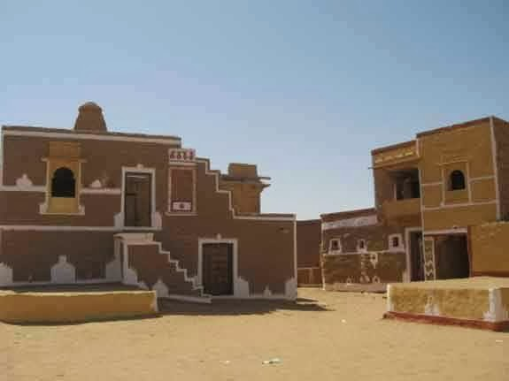 A house at haunted village Kuldhara